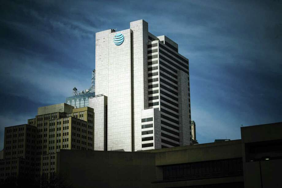 FILE -- The AT&T corporate headquarters building in downtown Dallas, Nov. 21, 2017. AT&T is planning to offer mobile 5G service by year's end to customers in Dallas and Waco, Texas, as well as in Atlanta, Georgia, the company said in a release late Tuesday. Photo: BRANDON THIBODEAUX /NYT / NYTNS
