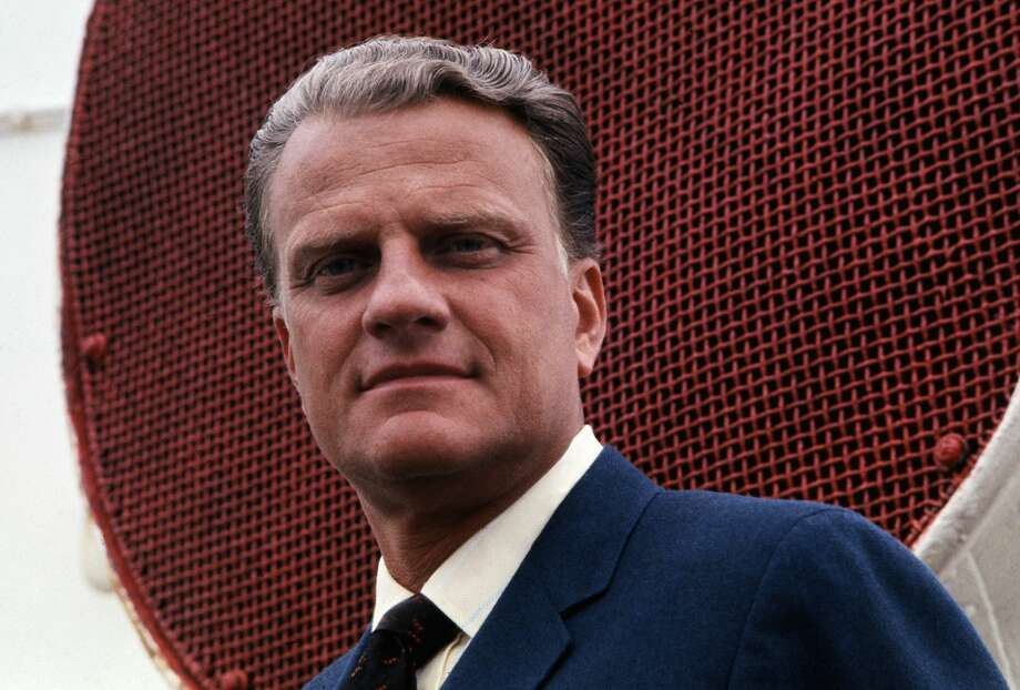 The Rev. Billy Graham, who transformed American religious life through his preaching and activism, becoming a counselor to presidents and the most widely heard Christian evangelist in history, died Wednesday. He was 99. Photo: Bettmann/Bettmann Archive