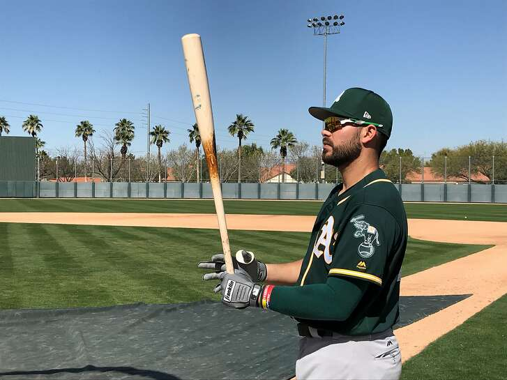 Longtime A's minor league Renato Nunez is out of options this spring.