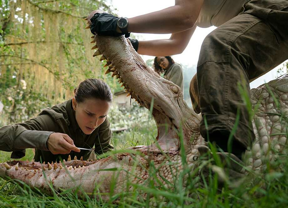 """""""Annihilation""""Director Alex Garland, whose first film was the impressive science-fiction drama """"Ex Machina,"""" returns with a more elaborate and expensive tale of alien invasion starring Natalie Portman and Jennifer Jason Leigh.Rated R. Playing throughout Houston Photo: Paramount"""