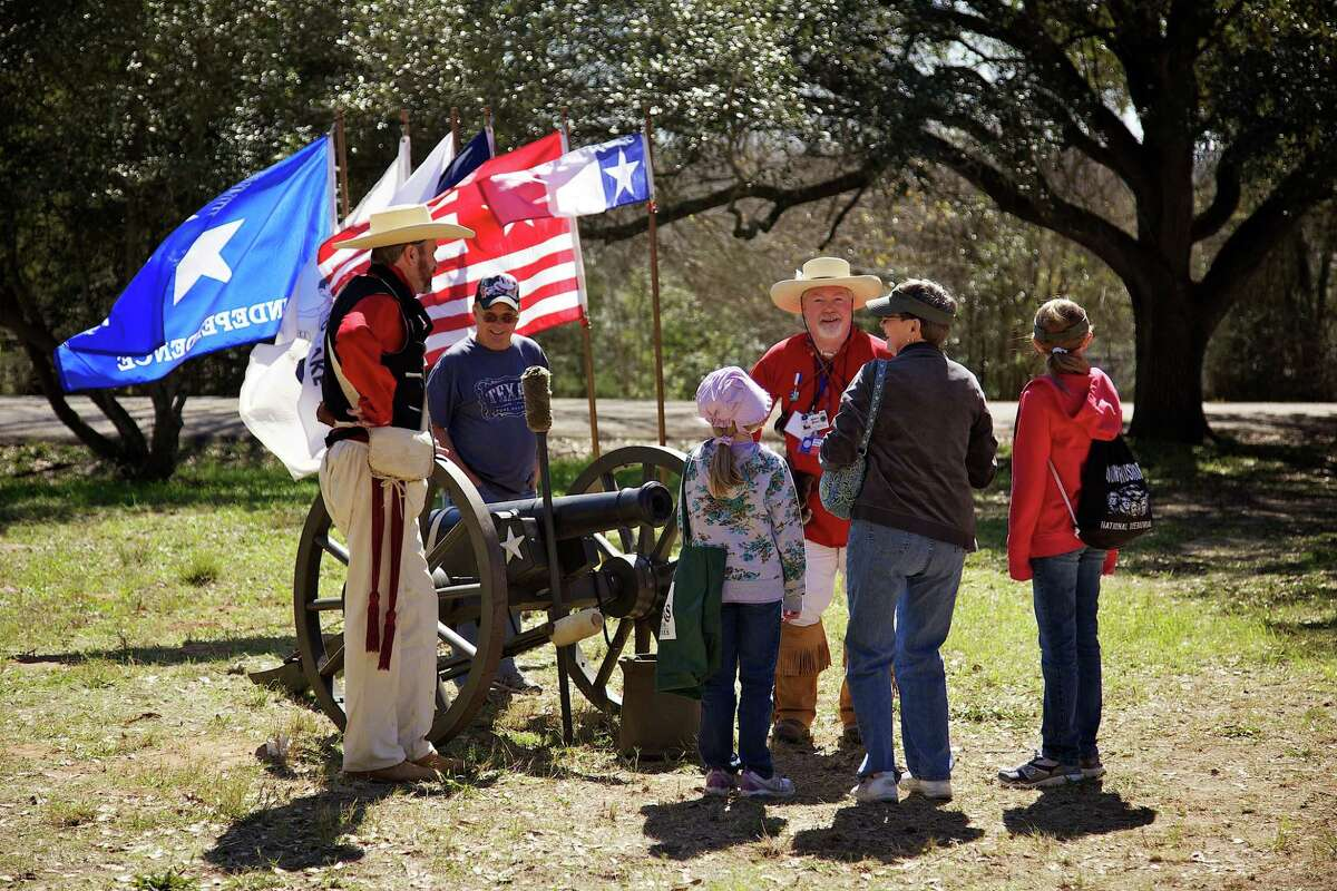 """""""Texas Independence Day Celebration"""" �"""" presented by H-E-B �"""" is an annual two-day living history celebration on Saturday and Sunday, March 3 and 4, on the 293-acre Washington on the Brazos State Historic Site to commemorate when 59 delegates bravely met in 1836 to make a formal declaration of independence from Mexico."""
