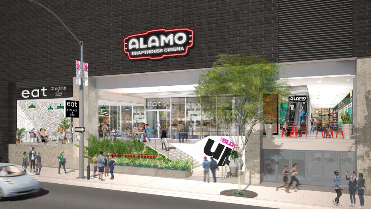 Rendering of Alamo Drafthouse in Raleigh, NC