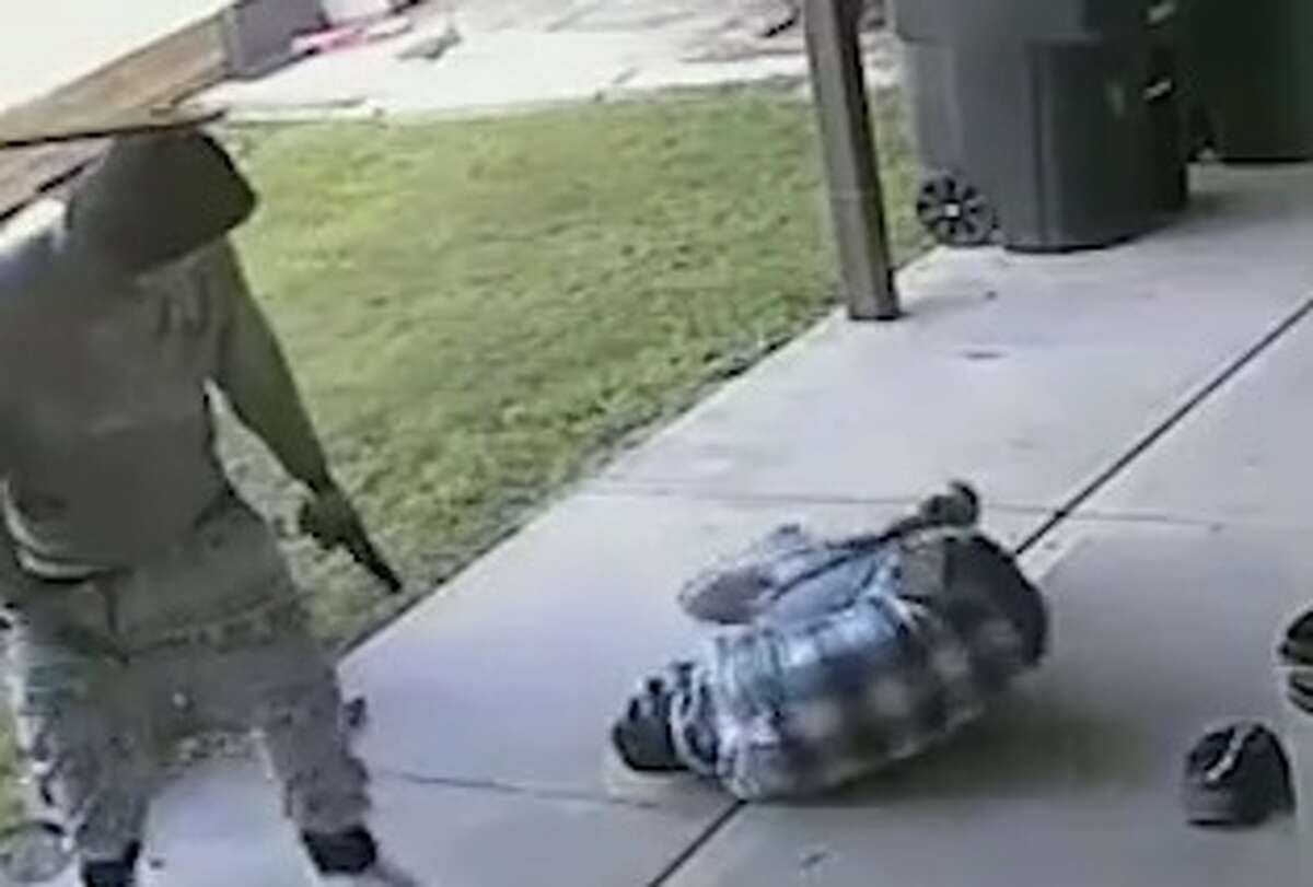 HoustonHouston police have released new surveillance footage of a violent home invasion and shooting, in hopes a tipster will come forward to help solve this case. The home invasion occurred in a Humble neighborhood just southeast of Bush Intercontinental Airport, at 16000 Truxton, on April 5, 2017.