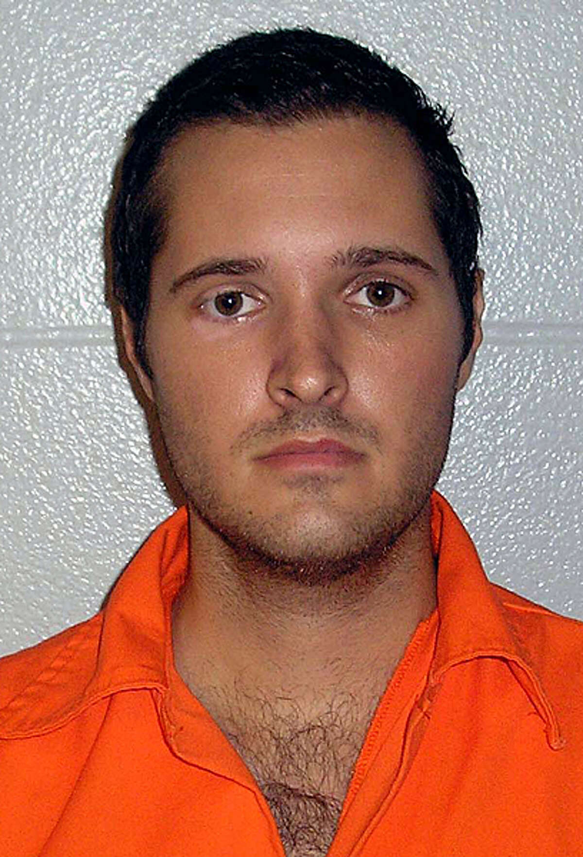 Booking Photo of Bart Whitaker Sugar Land PD. Death Penalty given on March 8, 2007 in Houston, Texas. Courtesy Photo from Sugarland Police dept. via Houston Chronicle
