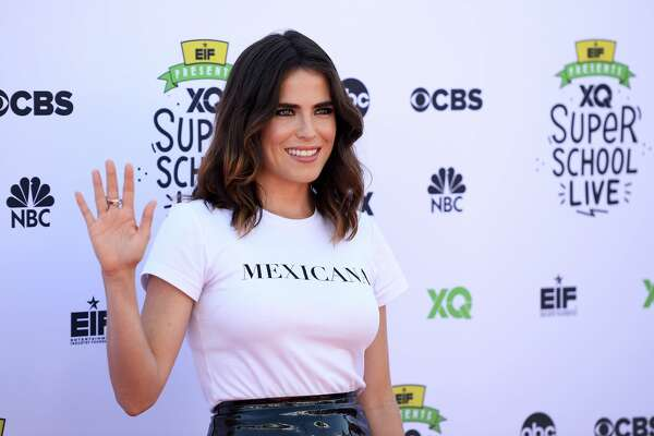 SANTA MONICA, CA - SEPTEMBER 08:  Actress Karla Souza arrives at the EIF Presents: XQ Super School Live event at The Barker Hanger on September 8, 2017 in Santa Monica, California.  (Photo by Amanda Edwards/WireImage)