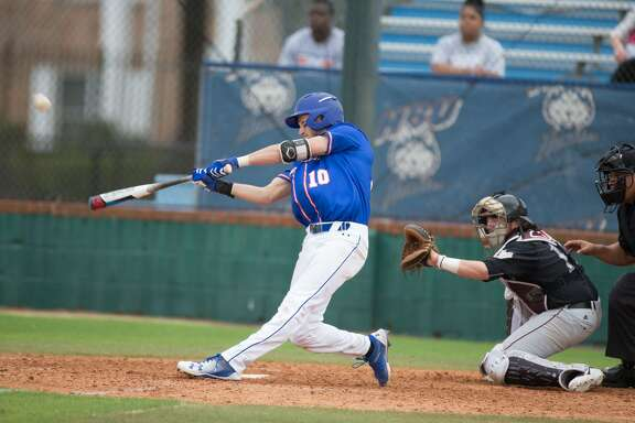 Houston Baptist senior second baseman Jack Fitzgerald went 3-for-4 with two home runs, including an inside-the-park homer, to finish with eight RBIs as the Huskies rolled to a 15-3 non-conference baseball matchup against Texas Southern at Husky Field on Tuesday.