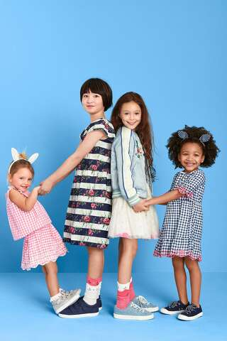 5c02f1ddd2  p Sarah Jessica Parker introduces her new line of children s wear at The  Gap