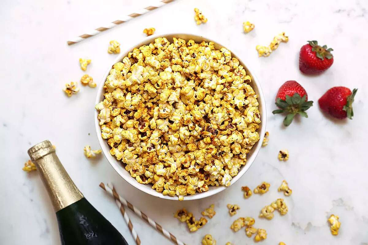 Golden Turmeric Popcorn from mindbodygreen.com