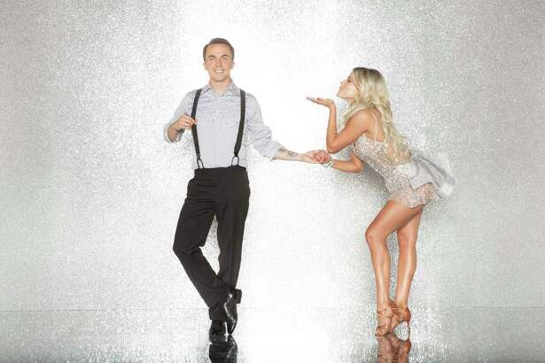 "Frankie Muniz and Whitney Carlson on ""Dancing with the Stars."""