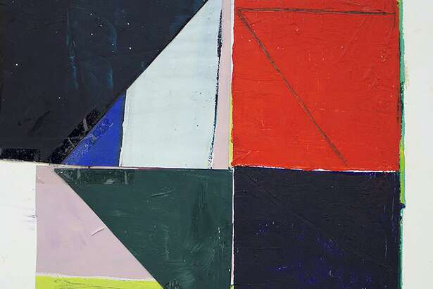 Collages byJai Llewellyn are on view in the main gallery at Gray Contemporary Feb. 24-March 31.