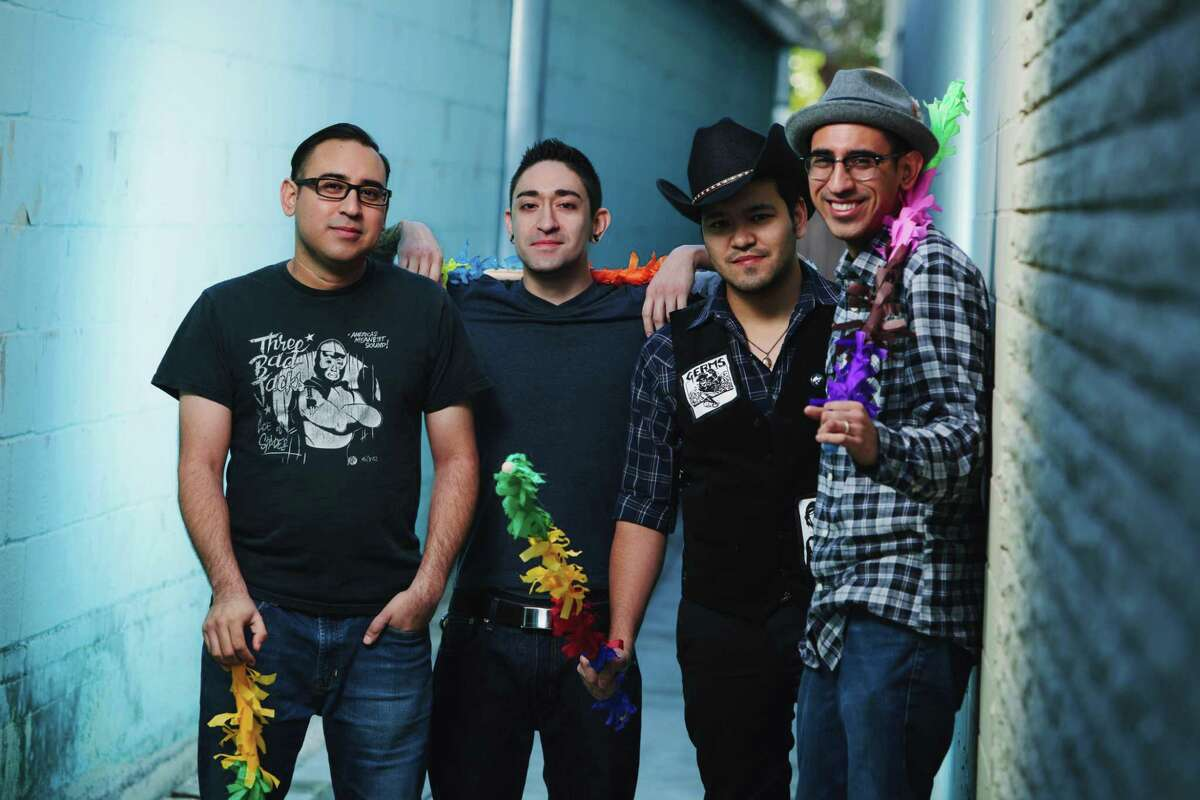 Piñata Protest will be one of more than 20 bands and DJs participating in Taco fest.