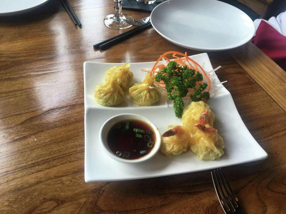 Little Kitchen's shrimp dumplings are good party appetizers.