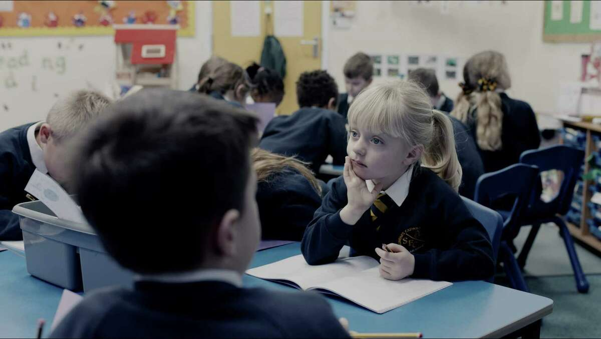 """The British live-action short, """"The Silent Child,"""" deals with the resistance to sign language by some parents of deaf children."""