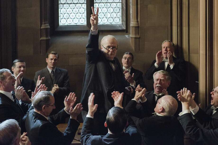"Gary Oldman is expected to win an Oscar for his performance as Winston Churchill in ""Darkest Hour."" Photo: Contributed Photo / © 2017 FOCUS FEATURES LLC. ALL RIGHTS RESERVED."