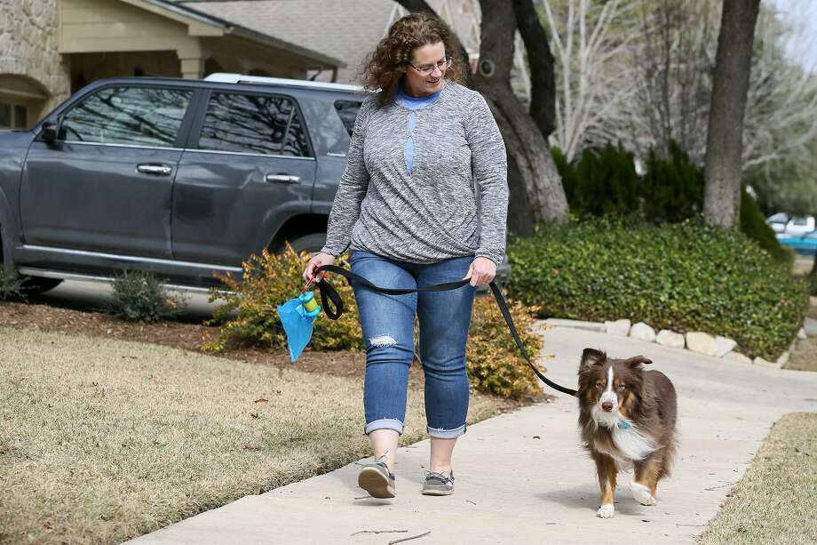 After launching Cathy's Critter Care and seeing the many needs of pet owners, Vaughan opened Blue Bonnet Bunk and Biscuit in Schertz. Photo: Marvin Pfeiffer /San Antonio Express-News / Express-News 2018