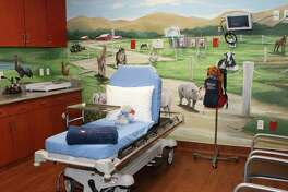 A children's themed room at Kingwood Emergency Center. The center is prepared and able to see over 100 patients a day.