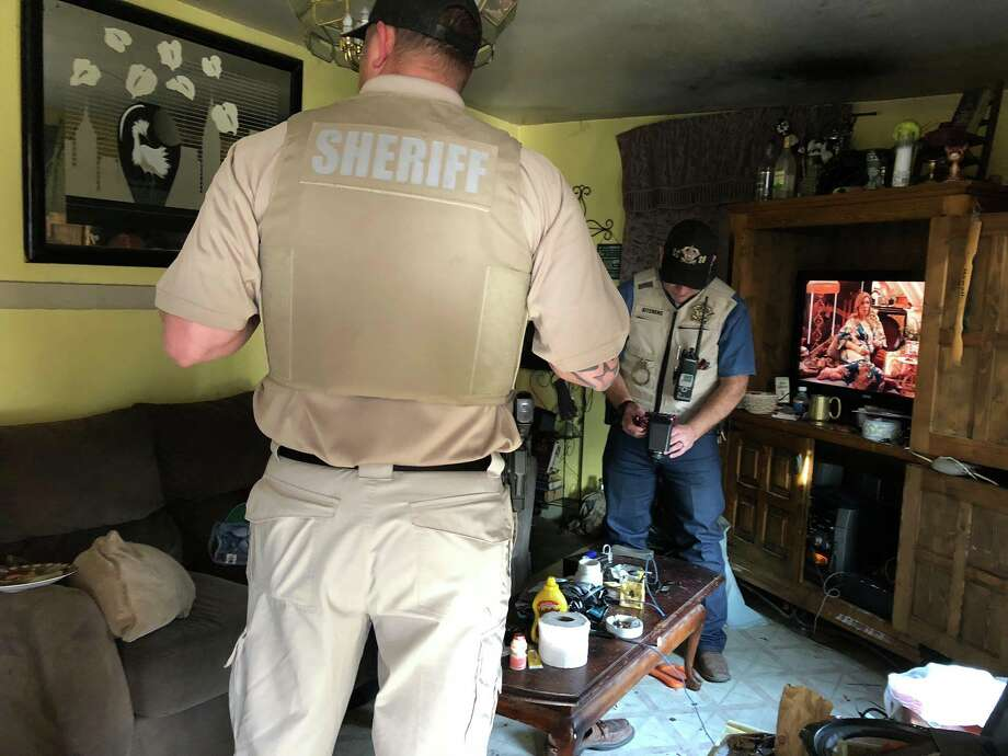 Hamilton County sheriff deputies arrested 23 after serving several search warrants during Operation Ice Storm. Photo: Hamilton County Sheriff's Office
