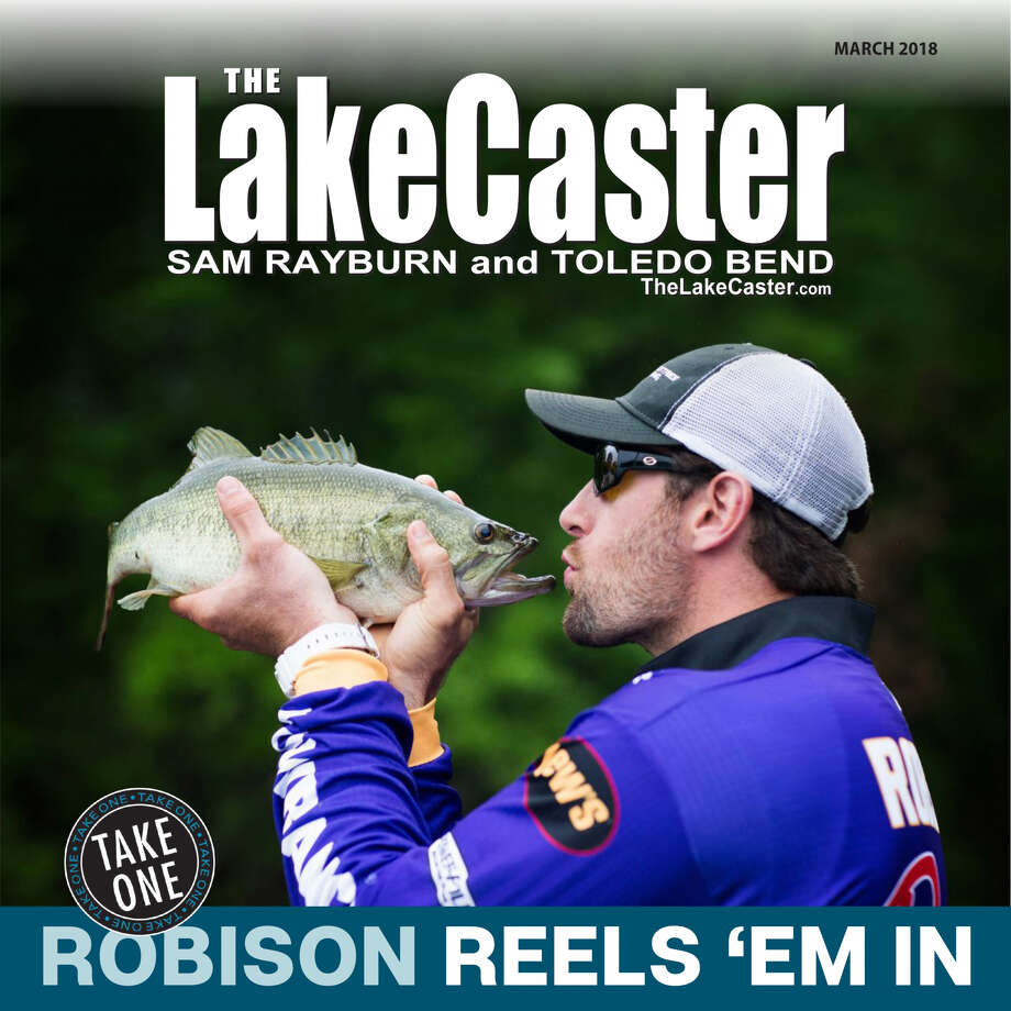 Minnesota Viking defensive end and professional angler, Brian Robison, puckers up for an in-depth feature in the March issue of the Lakecaster Magazine. Pick up a copy and see our new and improved look!