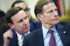 Connecticut Sen. Richard Blumenthal (D-Conn.) and Sen. Chris Murphy (D-Conn.)