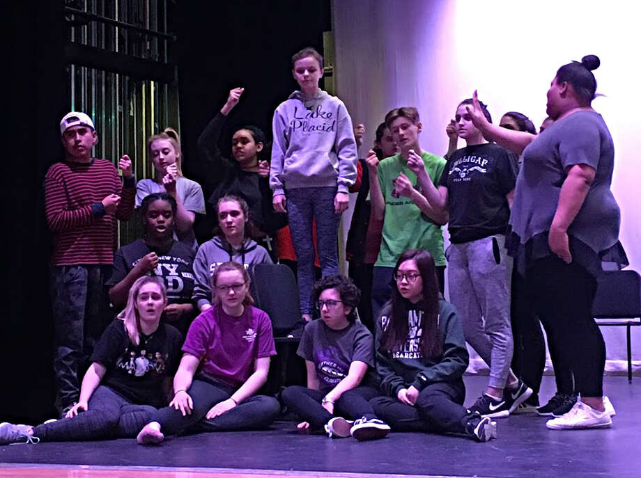 """The Troy High School production of """"Once on This Island"""" Photo: Provided"""
