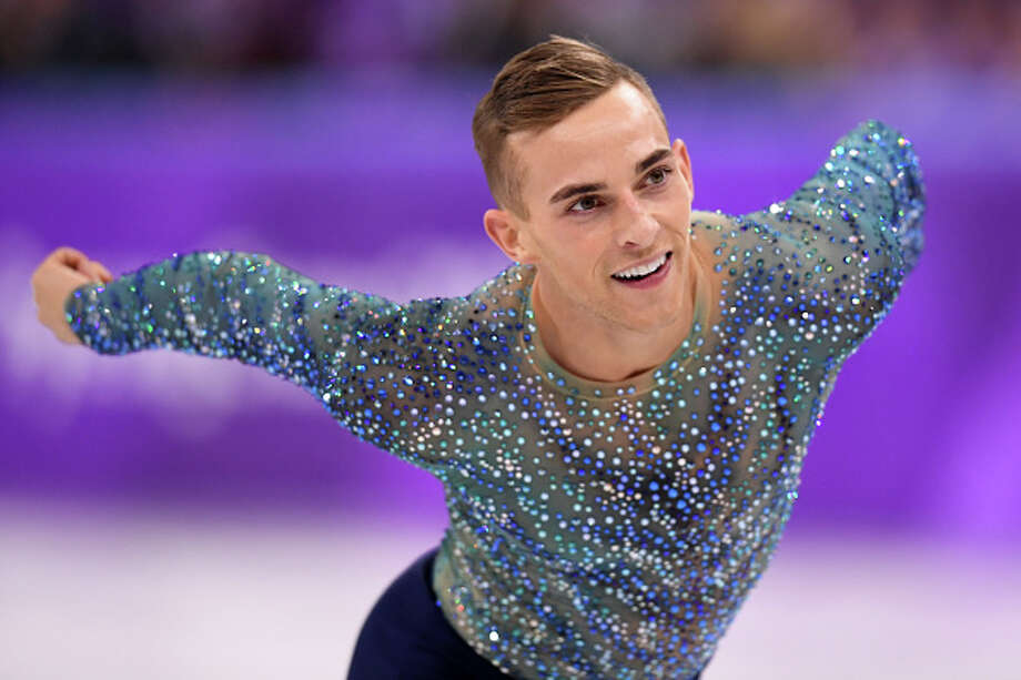 GANGNEUNG, SOUTH KOREA - FEBRUARY 17:  Adam Rippon of the United States competes during the Men's Single Free Program on day eight of the PyeongChang 2018 Winter Olympic Games  at Gangneung Ice Arena on February 17, 2018 in Gangneung, South Korea.  (Photo by Harry How/Getty Images) Photo: Harry How/Getty Images