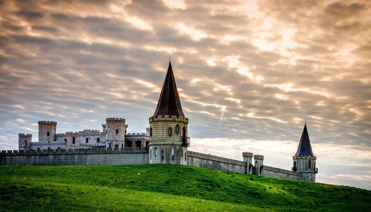 The Kentucky Castle is the only castle in the Bluegrass and one of just a handful of castles in the United States. (Ben C. Smith/The Kentucky Castle)