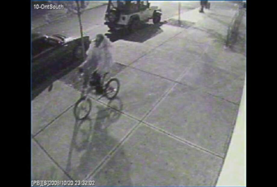 Surveillance camera photo from Ontario Street in Albany of a person Albany police wanted to question last year in the fatal shooting of Richard Bailey.