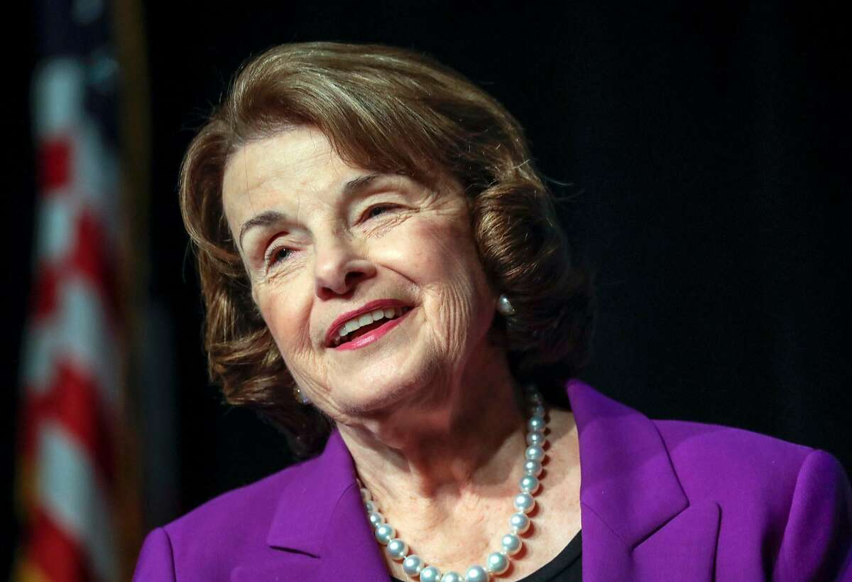 Sen. Dianne Feinstein is running for re-election and being challenged in the June primary by state Sen. Kevin de Léon.