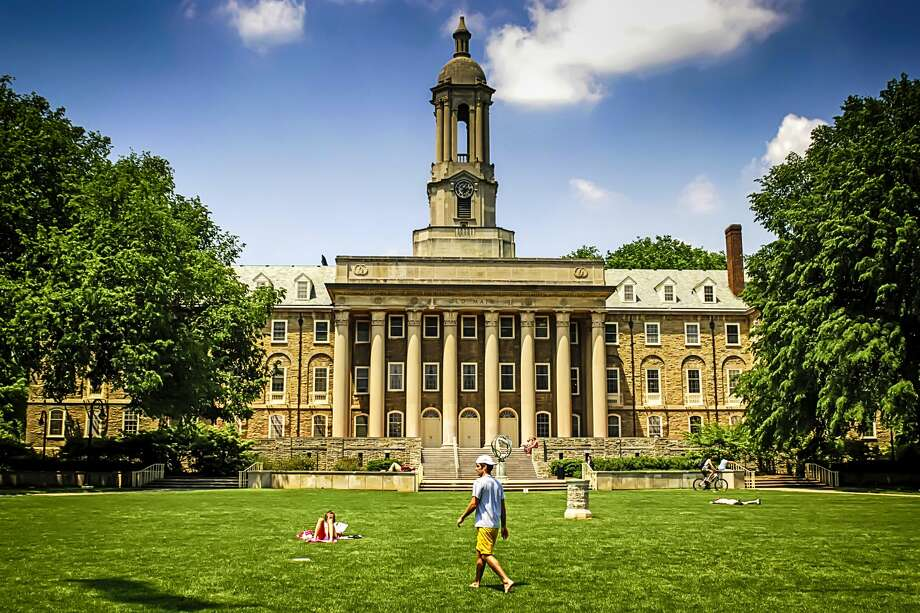 "1) Pennsylvania State University - University Park, PennsylvaniaOverall ""Best Colleges"" rank: 52 Acceptance Rate: 56 percentSAT score: 1090 - 1300 Photo: Csfotoimages/Getty Images"