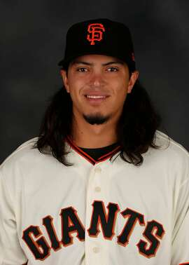 Dereck Rodriguez was drafted as an outfielder in 2011 and converted to pitching in 2014.