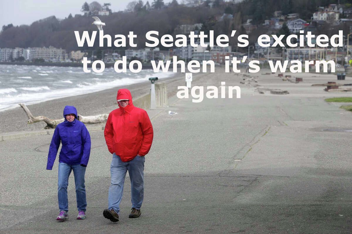 We know it's not the coldest it's ever been, but Seattle's cold and we miss when we could go outside without hating ourselves for it. Click through the slideshow to see what Seattleites said they miss most in this weather.