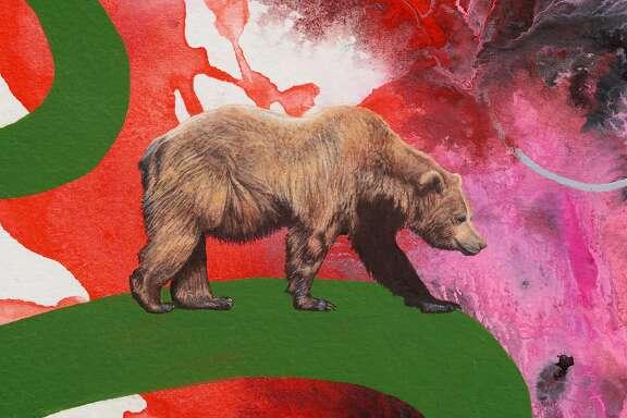 "Kara Mari, ""California Grizzly Bear"" (2016)"