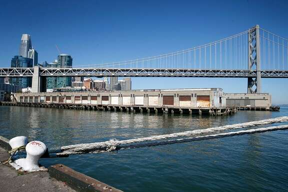 The waterfront is seen from Piers 30-32 in San Francisco, Calif. on Wednesday, Feb. 21, 2018, where a number of development projects had been proposed.