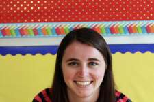 Madison Mulhern, a third grade teacher at South Elementary School in New Canaan last September.