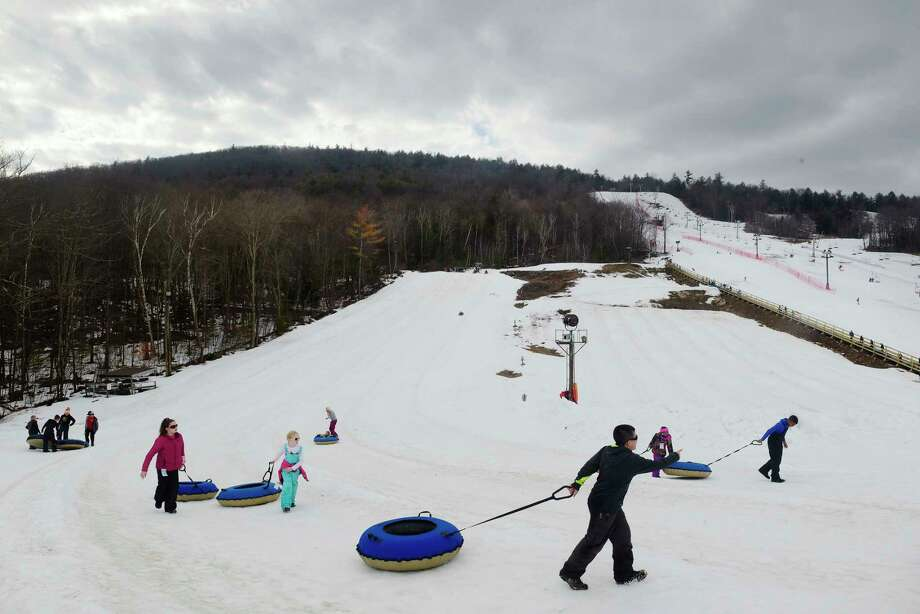 Tubing: Take the kids and your inner child on a wild ride at Willard Mountain in Greenwich, Washington County, or West Mountain in Queensbury. Photo: PAUL BUCKOWSKI / (Paul Buckowski/Times Union)