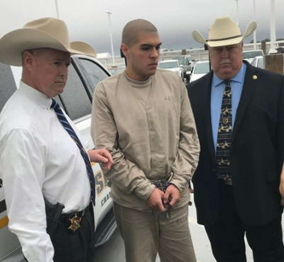 Brandon Alejandro Flores was extradited from Mexico Wednesday.