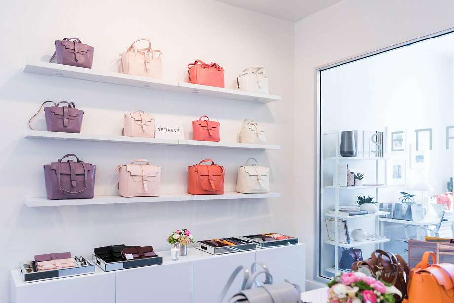 San Francisco bag company Senreve has opened a by-appointment showroom in Union Square. Photo: Elanah Entin