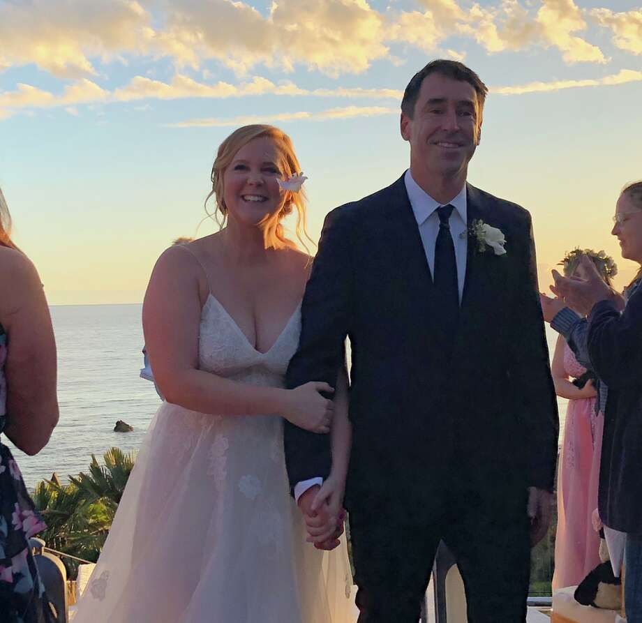 1) Amy Schumer and Chris Fischer Schumer married the celebrity chef in a secret ceremony on February 13, 2018.  Photo: Instagram