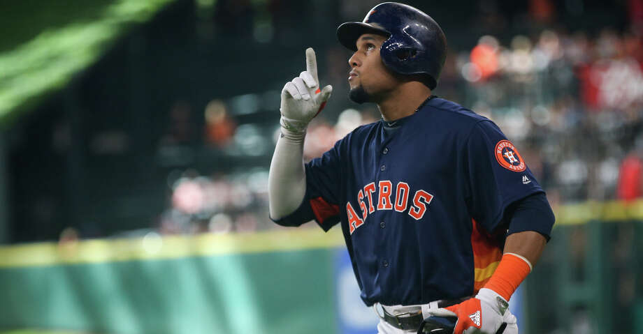 Former Astros center fielder Carlos Gomez agreed to a one-year, $4 million deal with the Rays on Wednesday. Photo: Michael Minasi