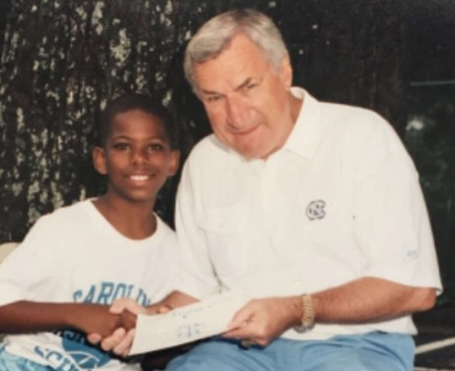 PHOTOS: See if you can pick out these Rockets players from their childhood photos Here's a gimme: That's Chris Paul as a kid with the legendary Dean Smith at a North Carolina basketball camp. Browse through the photos above and see if you can pick out these Rockets players just by looking at their baby photos. Photo: Instagram