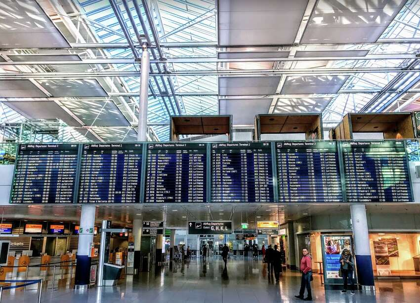 Flight delays at European airports more than doubled so far this year. (Munich Airport)