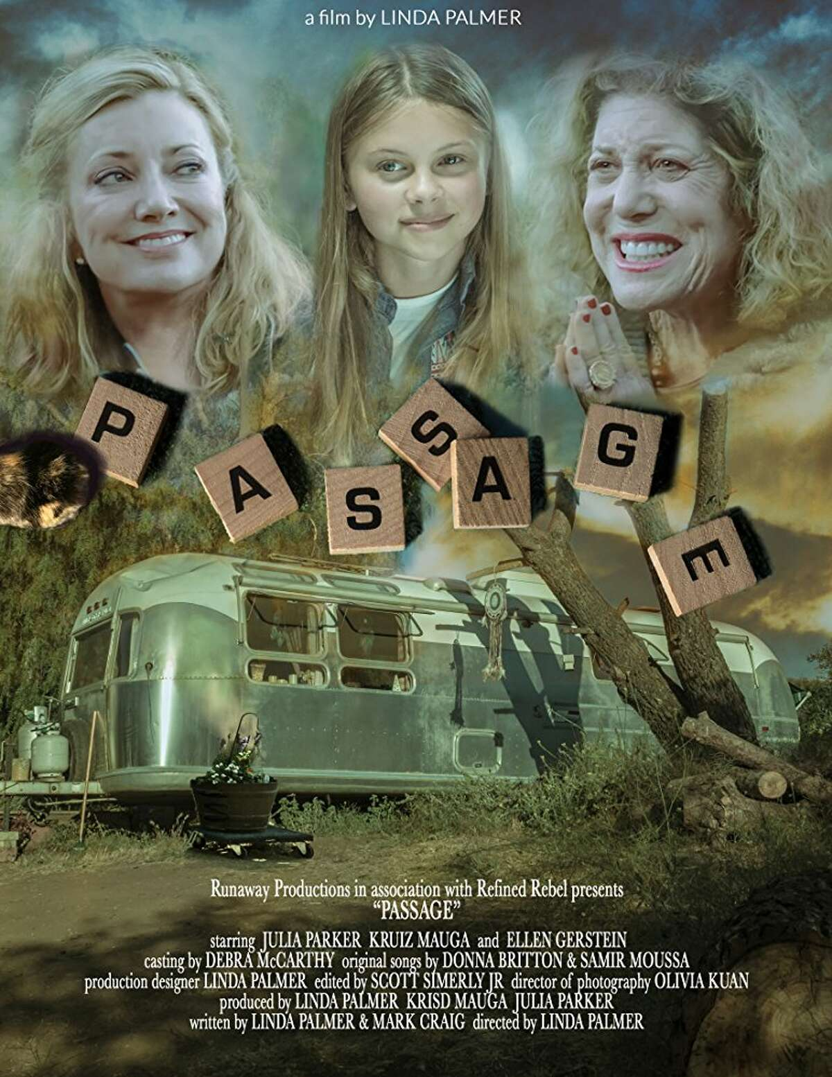 """Film poster for the film """"Passages,"""" produced by Plainview native Lanora Cuellar was recently nominated for 16 awards by the Idyllwild International Film Festival."""