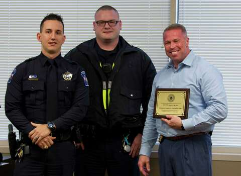 Law enforcement honored with DWI awards by Montgomery County