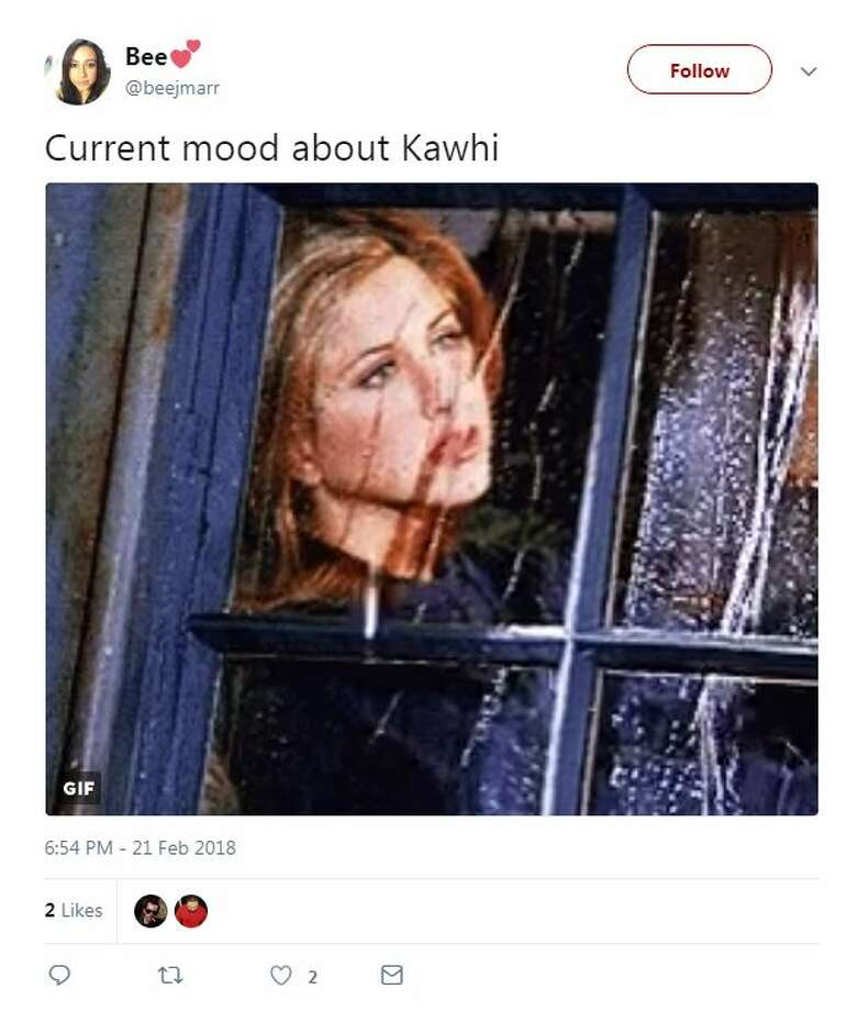 These were the internet reactions when news was that Kawhi Leonard may be out for the rest of the season. Photo: Twitter Screen Shots
