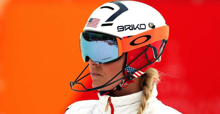 PYEONGCHANG-GUN, SOUTH KOREA - FEBRUARY 22:  Lindsey Vonn of the United States inspects the course prior to the Ladies' Alpine Combined on day thirteen of the PyeongChang 2018 Winter Olympic Games at Yongpyong Alpine Centre on February 22, 2018 in Pyeongchang-gun, South Korea.  (Photo by Tom Pennington/Getty Images) Photo: Tom Pennington/Getty Images