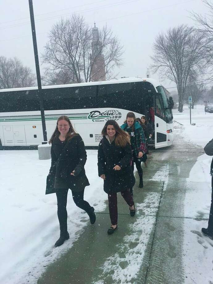 MSU St. Andrews hosted 23 future teachers on Feb. 9, in hopes of encouraging the juniors and seniors to consider Midland as an area to work and live after completing their teaching degrees. (Photo provided)