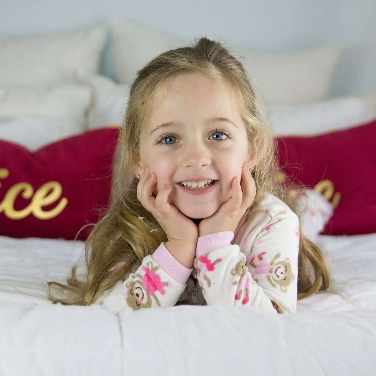 Emma Splan, 6, died of flu complications early Sunday morning.