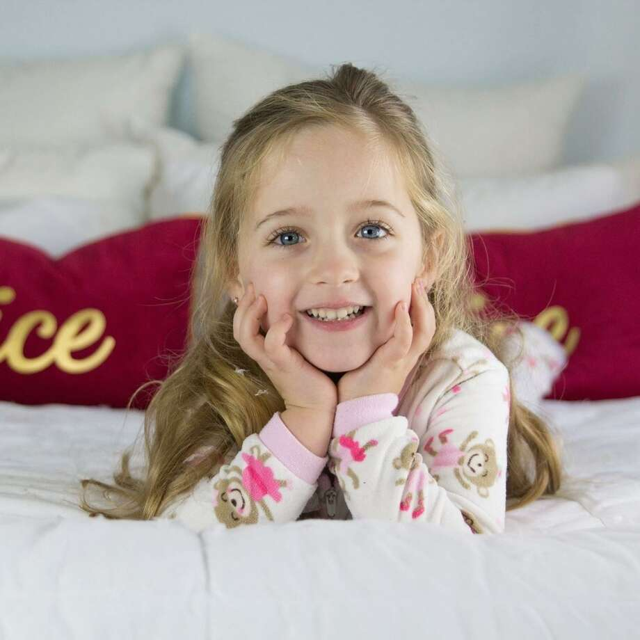 Emma Splan, 6, died of flu complications early Sunday morning. Photo: Contributed Photo