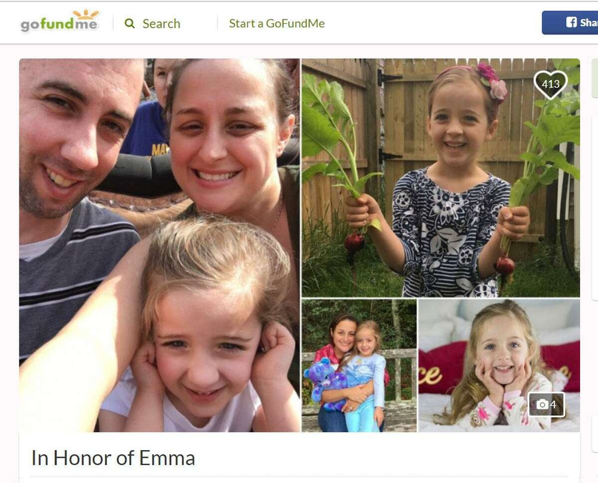 A GoFundMe page was created in honor of 6-year-old Emma Splan, raising more than $25,000 in less than day. Emma died Sunday,Feb. 18, 2018.from complications of the flu.