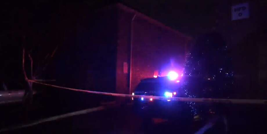 A 16-year-old boy was shot at 9800 Chimney Rock late Wednesday night, Feb. 21, 2018. Photo: Metro Video